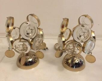 Italian Table Lamps from Sciolari, 1970s, Set of 2