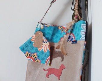 Summer Sale // Dachshund bag named Rap // Shopper // Accessories // Cross body Bags // Handbag // Doxie // Hobo Bag // Teckel // Mr. Podenco