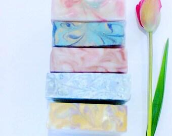 Soap Set, Gift Set, Spa Kit, Soap Favors, Spa Set, , Soap Gift, Gift from Ireland, Artisan Soap Bars
