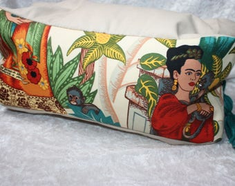 Frida Kahlo - reading pillow - reading bones - Readingpillow - neck pillow - Readingbone-pillow - cushion Frida Kahlo cushion