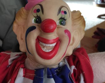 Vintage Handmade Clown