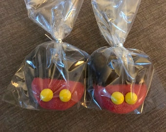 Minnie Mouse or Mickey Mouse Chocolate Covered Oreos