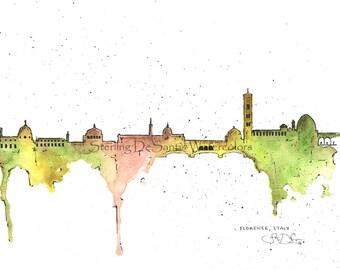 Florentine Skyline - Florence, Italy