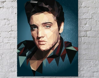 All Shook Up - Elvis Print