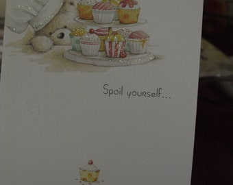 Spoil Yourself  BIrthday Card