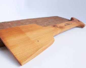 Wood BBQ Scraper / BBQ paddle/ Gift /Barbecue Brush / Reclaimed Cedar Scraper