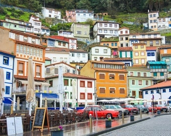 Colorful Cudillero, Asturias, Spain | Spain Photography