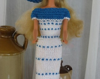 Barbie Clothes, Barbie Fashion, Hand Knit Barbie Clothes