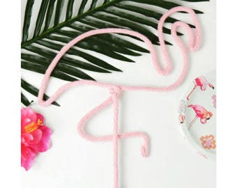"Flamingo Wall Decor, 17"" , Flamingo Sign, Pink Flamingo Decor, Flamingo Home Decor, Flamingo Party Decor, Flamingo Art, Tropical Decor"