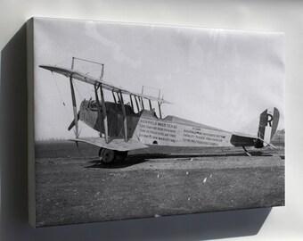 Canvas 24x36; Curtiss Jn-4 Jenny 1918 P1