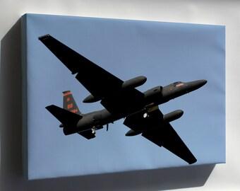 Canvas 24x36; U-2 Dragon Ladyosan Air Base, Korea 5Th Recon Sqd
