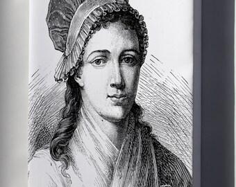 Canvas 16x24; Aduc 127 Corday D'Armans C.M.A., 1768 1793
