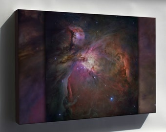Canvas 16x24; Orion Nebula Hubble Space Telescope