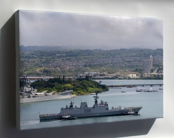 Canvas 16x24; Ins Sahyadri In Pearl Harbour For Rimpac 2014