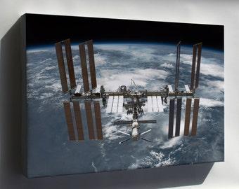 Canvas 16x24; International Space Station P3
