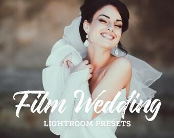 70 Film Wedding Lightroom Presets Bundle - Professional Photo Editing for Portraits, Newborns, Weddings
