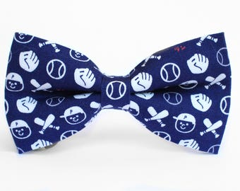 Baseball Bow Tie, Boys Bow Tie, Dog Bow Tie, MLB, Mens Bow Tie, Toddler Bow Tie, Sports Bow Tie, Bow Tie for Boys, Bow Tie for Dog