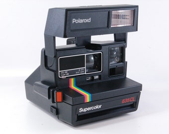 Camera Polaroid Land Camera Supercolor 635 CL