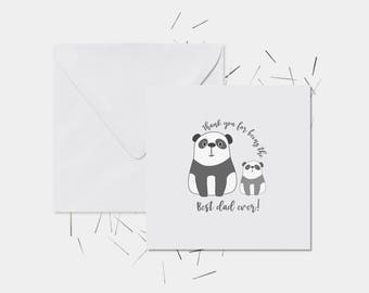 Fathers day card, cute card, father's day, dad cards, card for him, card for dad, best dad card, Fathers day, cute dad card, gifts for dad,