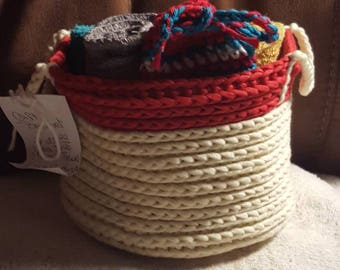 Handmade gift basket set