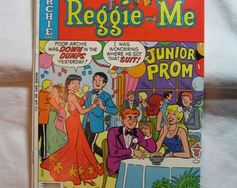 Archie Comic Series No  125, Cat# 06971 August 1980 Reggie and Me