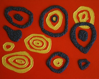 "Francesca Colantoni: ""Concentric Circle"" 2016"