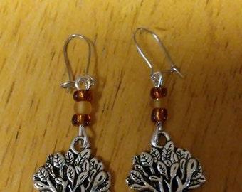 Dangle Tree Earrings