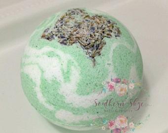Bath Bomb | Eucalyptus Essential Oil | Detox | Sore Muscles | Epsom Salt | Gift Ideas | Gift for Her