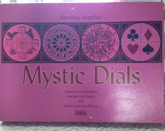 Vintage Mystic Dials Astrology Board Game 1967