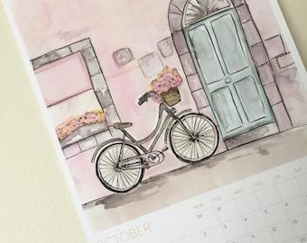 SALE!! A4 Wall 2017 Calendar