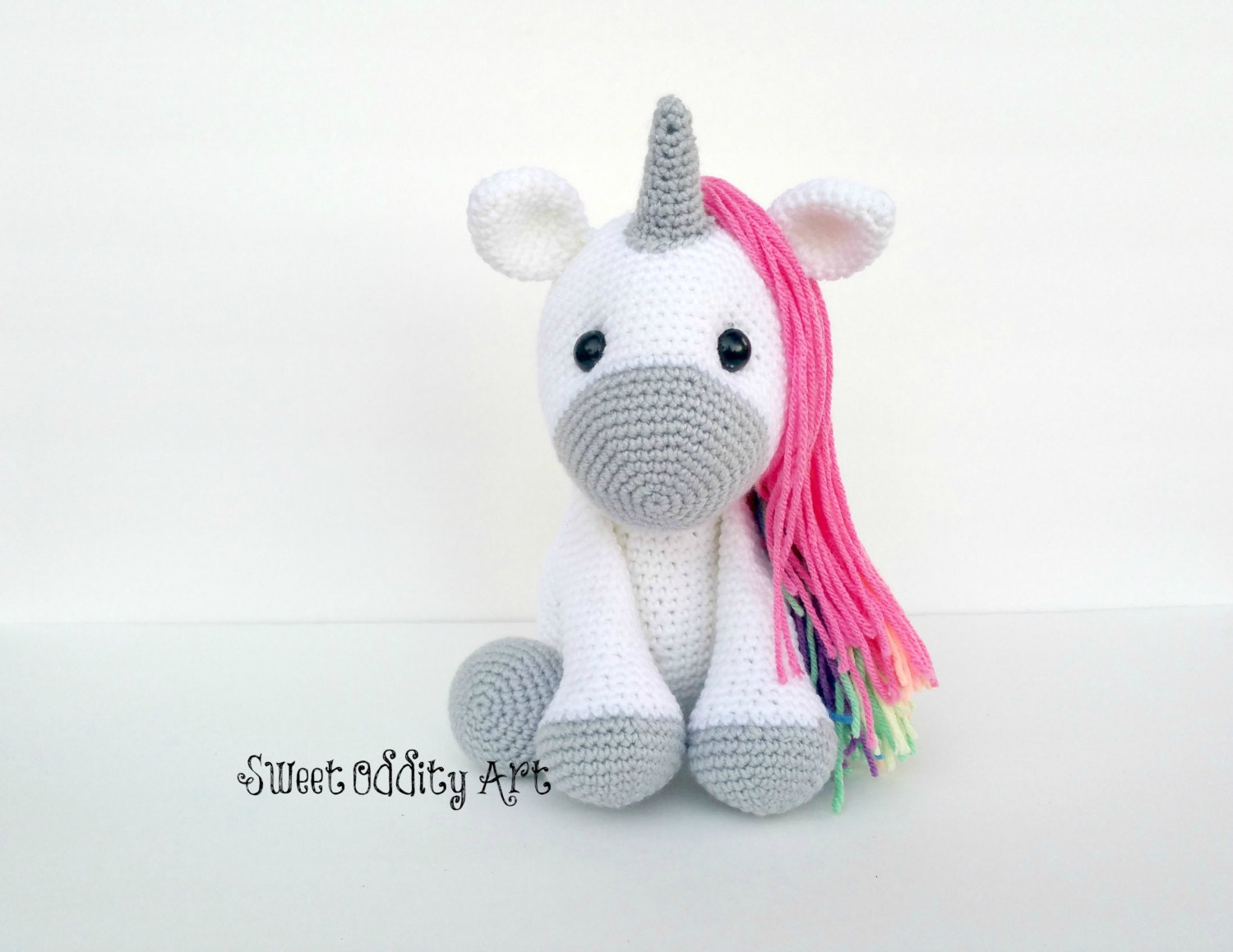 Unicorn Amigurumi Yarn Yard : unicorn unicorn doll unicorn toy crochet unicorn unicorn