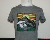 "Grateful Dead inspired Women's ""He's Gone"" T-shirt"