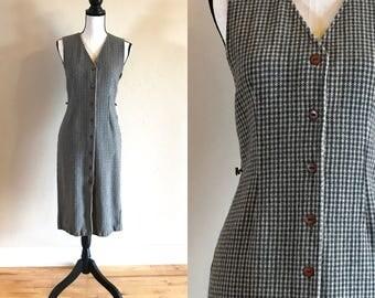 Size 8   Vintage Pendleton Knockabouts Wool Jumper Dress, Vintage Pendleton Wool Dress Size 8