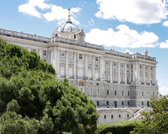 Royal Palace, Madrid, Spain, Architecture, Photography, Prints, Fine Art Prints, Wall Art, Travel Photos, Palacio Real, Madrid Photos