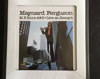 "Maynard Ferguson ""Live at Jimmy's"" 8-Track Stereo Track Cartridge - Columbia House - Never Opened NIP"