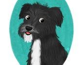 Illustration personnalisée Portrait animaux de compagnie