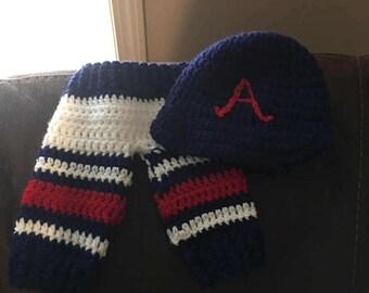 Atlanta Braves Infant Baseball Pants/Ball Hat