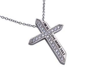 "Katana Cross ""Love Never Fails"""