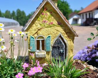 Brookside Cottage for Miniature Garden, Fairy Garden