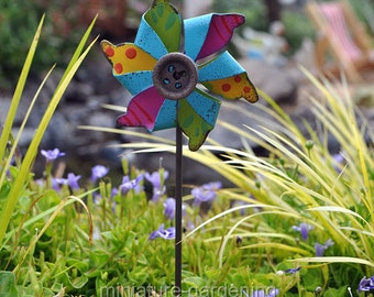 Garden pinwheels Etsy