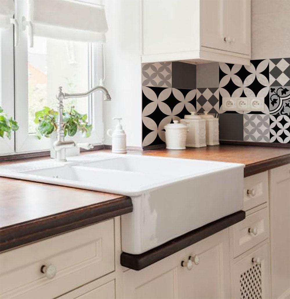 mix tegel stickers keuken badkamer tegels vinyl vloer tegels