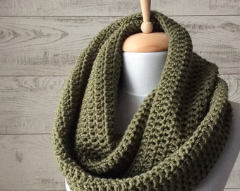 Scarf, infinity scarf, knit scarf, wool knit scarf, women scarf, scarf, handknit scarf Many Colors FAST DELIVERY