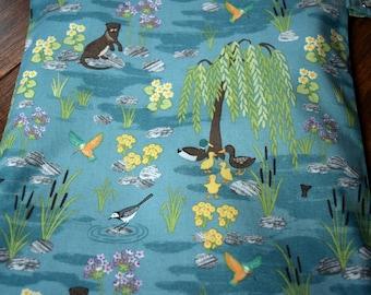 River Otter Wet Bag~  Swim Bag, Diaper Baby bag, Travel Bag, Wash/Dry Bag~ Reuseable Pul Bag