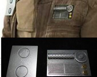 3D Printed Rogue One Cassian Andor Jacket Greeblies
