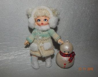 "Pukipuki Lati White SP Soom Imda 1:7 11-12 cm BJD Set ""White Beauty"" for dolls of similar format"