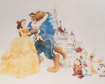 Beauty and the Beast mini chests