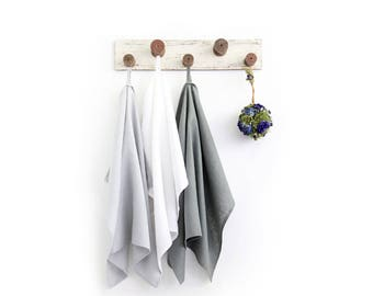 Best towels set of 3 made of pure linen - Kitchen towels