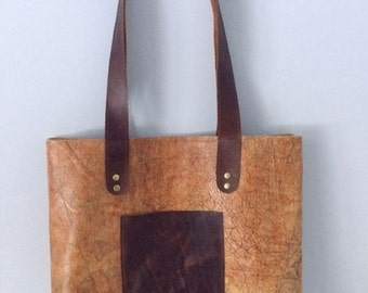 Leather Tote, Tote Bag, Leather Tote Bag, Market Bag, Over the Shoulder  Bag, Carry All, Book Bag,Shopping Tote, Leather Bag