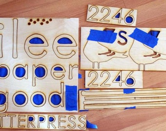 ilee plywood Sign for Tueber