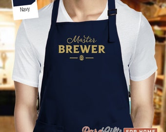 Brewmaster, Beer Gift, Craft Beer, Home Brew Apron,Home Brewing Gift, Beer Brewing, Part Of Beer Brewing Kit, Homebrew Gift For Home Brewing